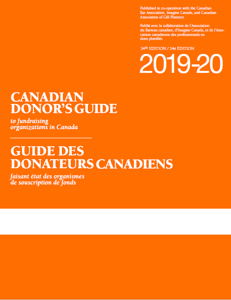 Canadian Donor's Guide | Home